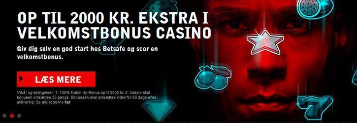Betsafe Casino velkomstbonus