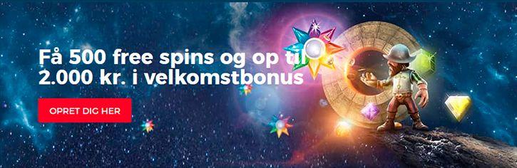 Casino dk velkomstpakke