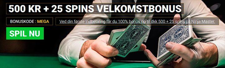 Mega Casino velkomstbonus