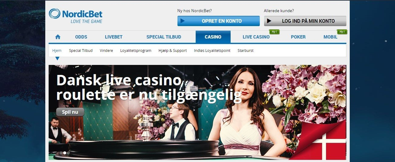 NordicBet lobby