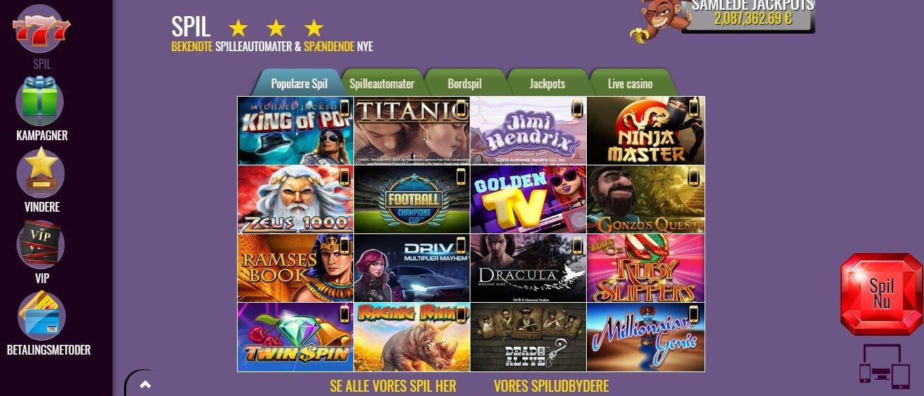 Slots Magic Casino anmeldelse