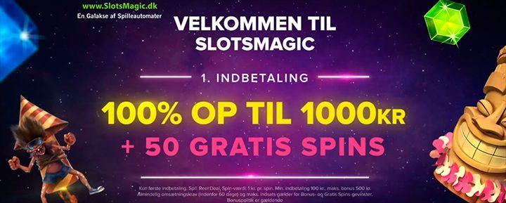 Slotsmagic bonus