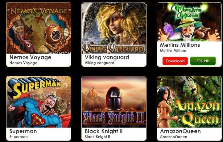 Megacasino games