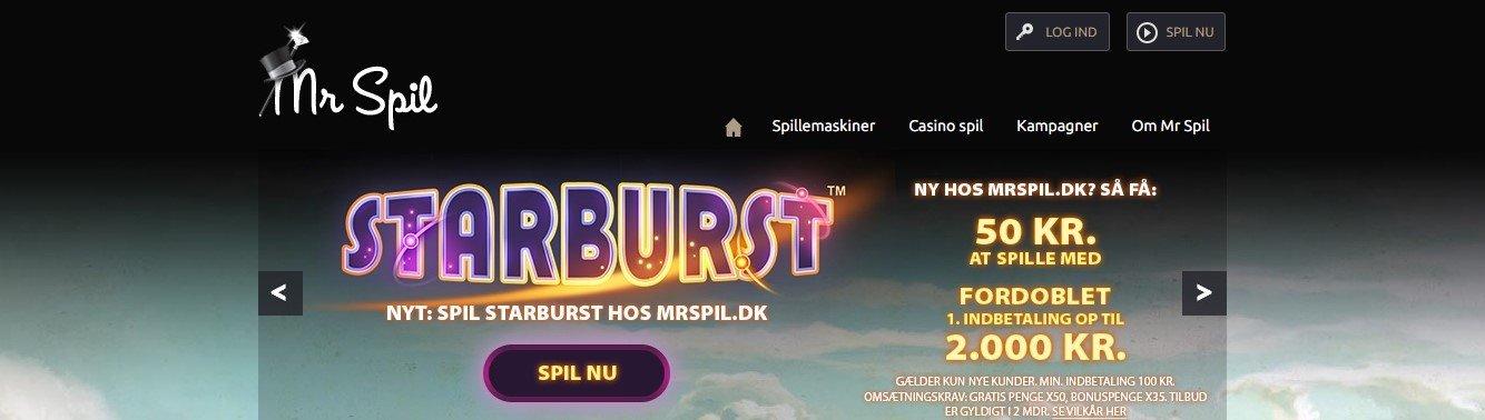 Kæmpe bonus gevinster hos Mr Spil casino