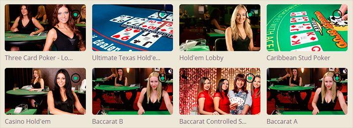 BingoSjov live casino