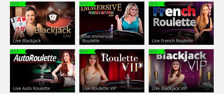Kaiserslots live casino