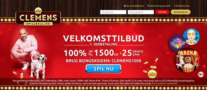 Clemens Spillehal casino