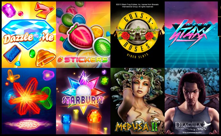 Mega Casino spilleautomater